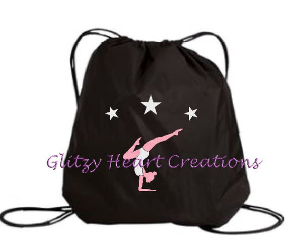 Gymnastics Balance Design - Cinch Bag