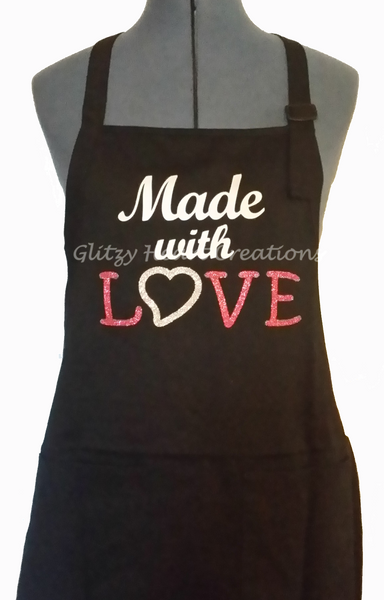 Apron - Made with Love Design