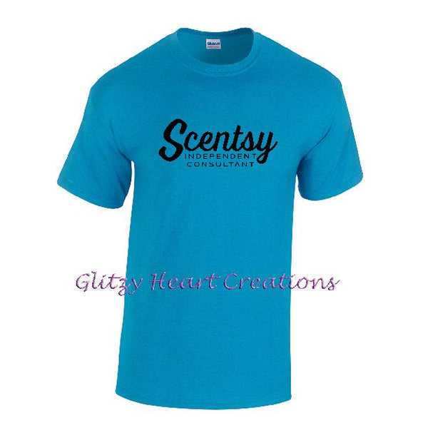 Authorized Scentsy Vendor - Unisex T Shirt with Scentsy Script Logo