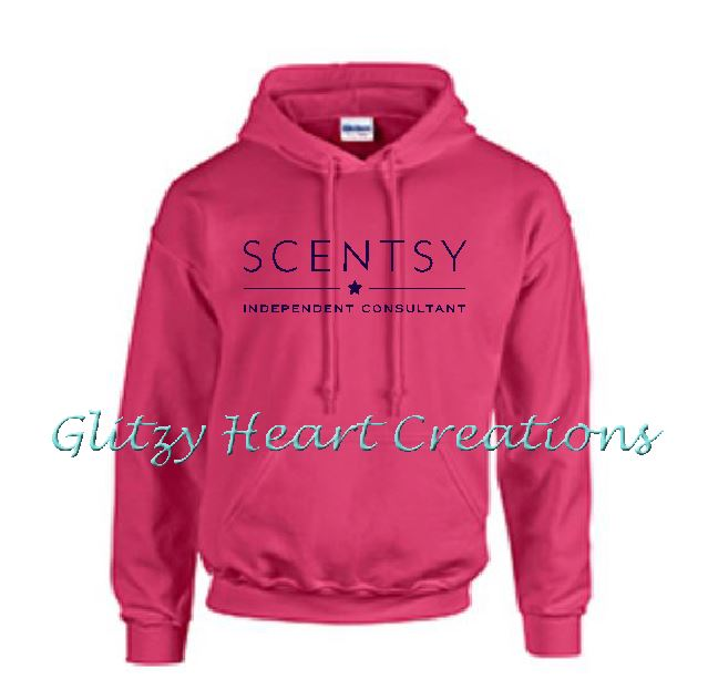 Authorized Scentsy Vendor - Pullover Hoodie with Scentsy New Logo - Add'l Colours