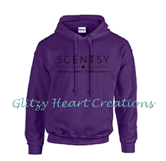 Authorized Scentsy Vendor - Scentsy New Logo on a Pullover Hoodie