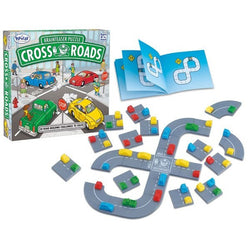Fun educational learning game Crossroads