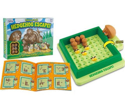 Fun educational learning game Hedgehog Escape
