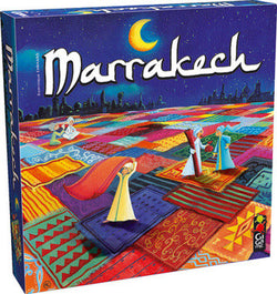 Fun educational learning game Marrakech