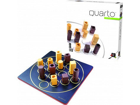 Fun educational learning game Quarto Classic