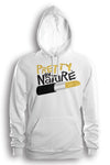 Pretty By Nature Gold Hoodie