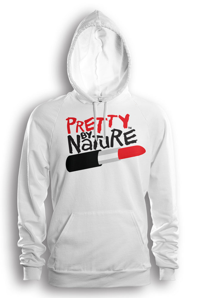 Pretty By Nature (White/Red/Black) Hoodie