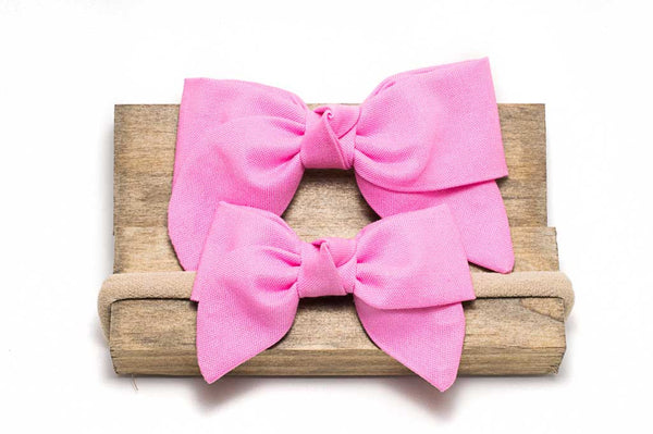 Cotton Candy Pink Kensington Bow