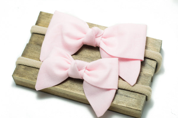 Baby Pink Kensington Bow