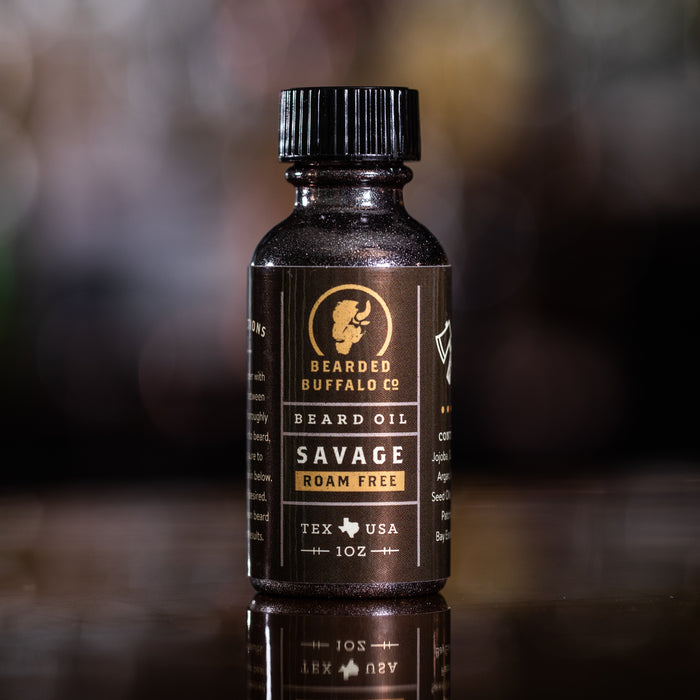 SAVAGE BEARD OIL