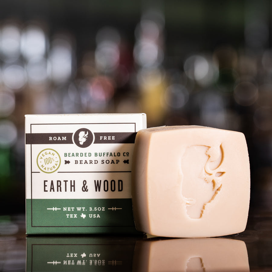 Earth Wood Beard Soap