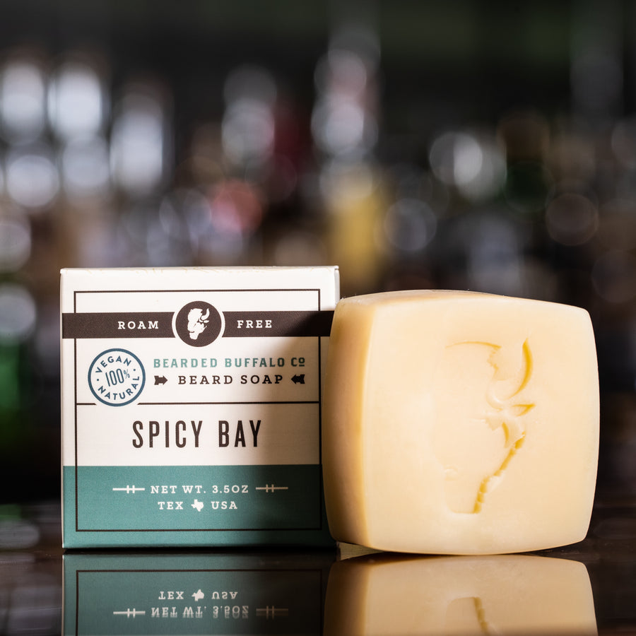 SPICY BAY BEARD SOAP