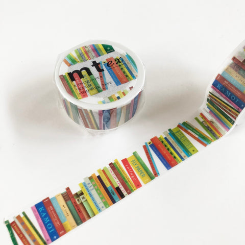mt Ex Bookshelf Washi Tape