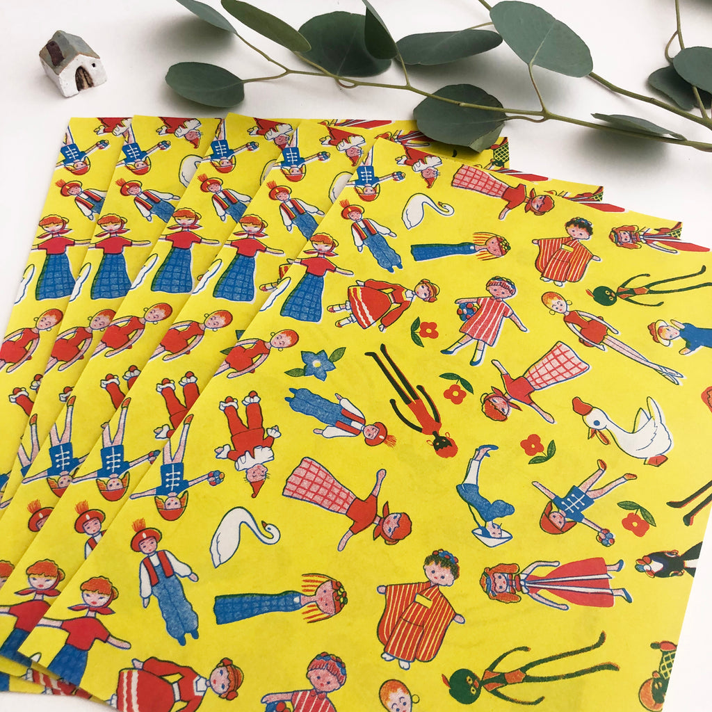 Yonagadou Wrapping Paper Set - Fashionista
