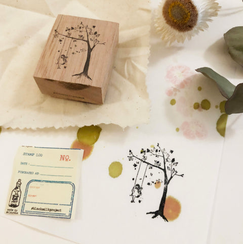 Black Milk Project Original Rubber Stamp - Swing