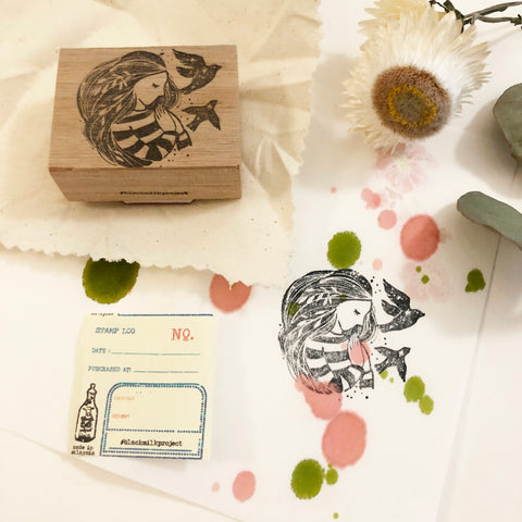 Black Milk Project Original Rubber Stamp - Treasure