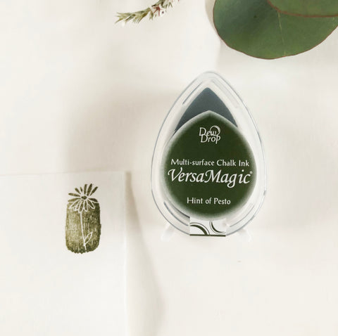 VersaMagic Chalk Finish Pigment Ink Pad(S) - Hint of Pesto