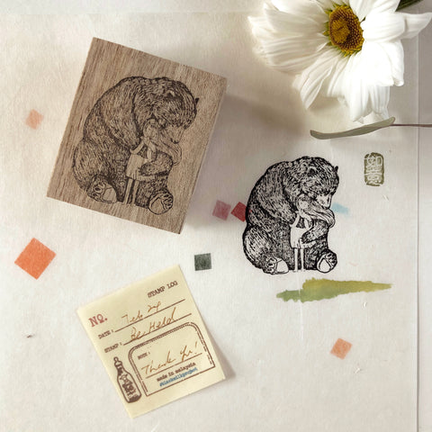 Black Milk Project Original Rubber Stamp - Be Held