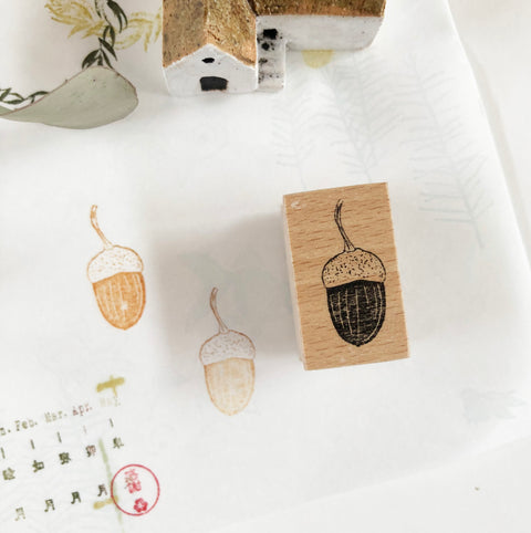 SJ Original Rubber Stamp - Acorn(S)