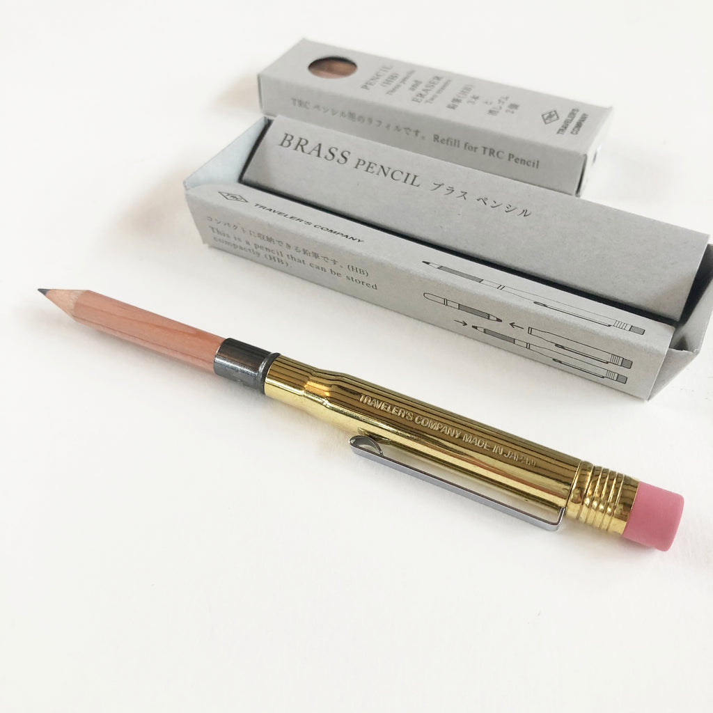 Traveler's Company Brass Pencil