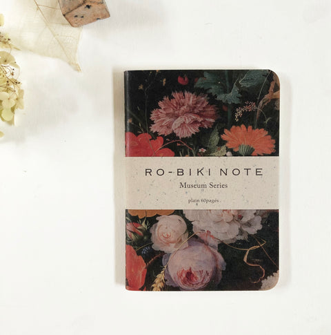 RO-BIKI Museum Series Dotted Notebook - Flower
