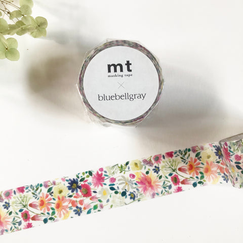 MT x Bluebellgray Washi Tape - Zinnia