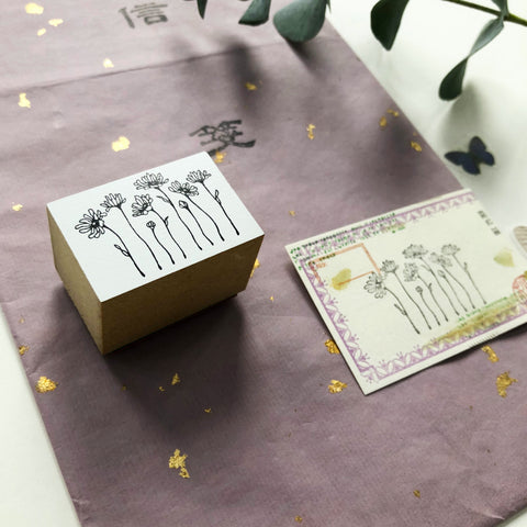 niconeco x PEPIN Collaboration Stamp 01 - Daisy