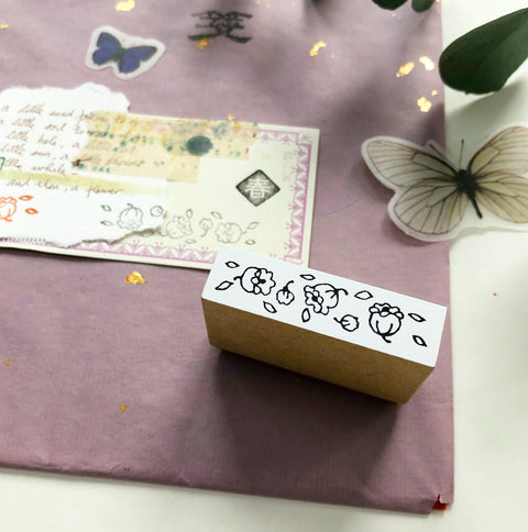niconeco x PEPIN Collaboration Stamp 02 - Petals