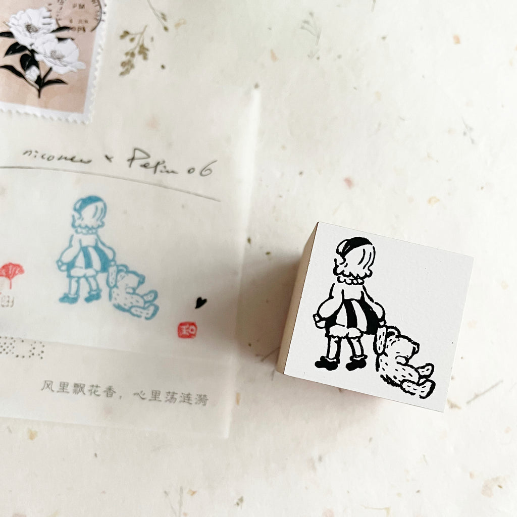 niconeco x PEPIN Collaboration Stamp 06 - On My Way