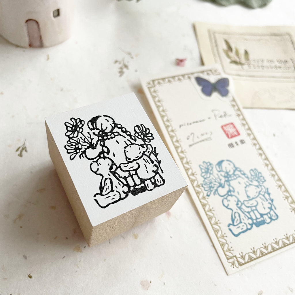 niconeco x PEPIN Collaboration Stamp 07 - Best Friends