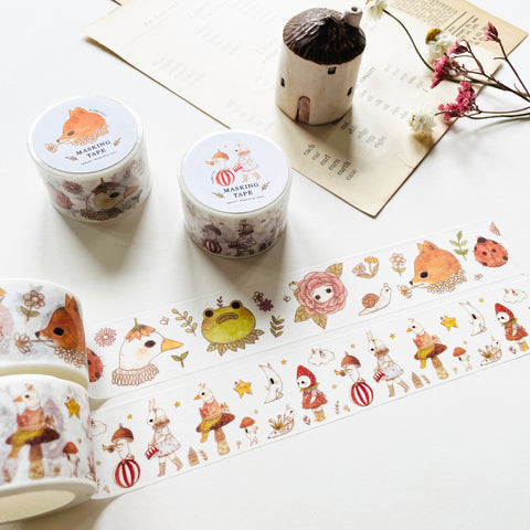 Jb0xtchi Woodland Series Vol.2 Washi Tape