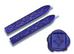 Sapphire Blue Sealing Wax (with wick)