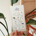 SUATELIER Deco Drawing Sticker (1079)
