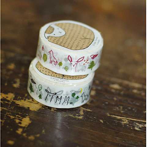 Classiky Forest Friends Washi Tape
