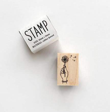 KNOOP Dantelion Rubber Stamp