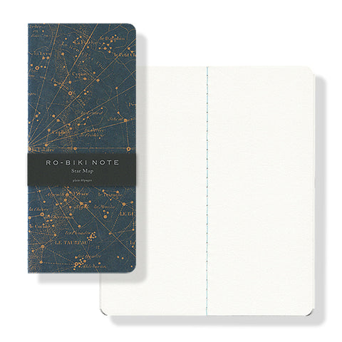 RO-BIKI Wax Cover Notebook - Star Map