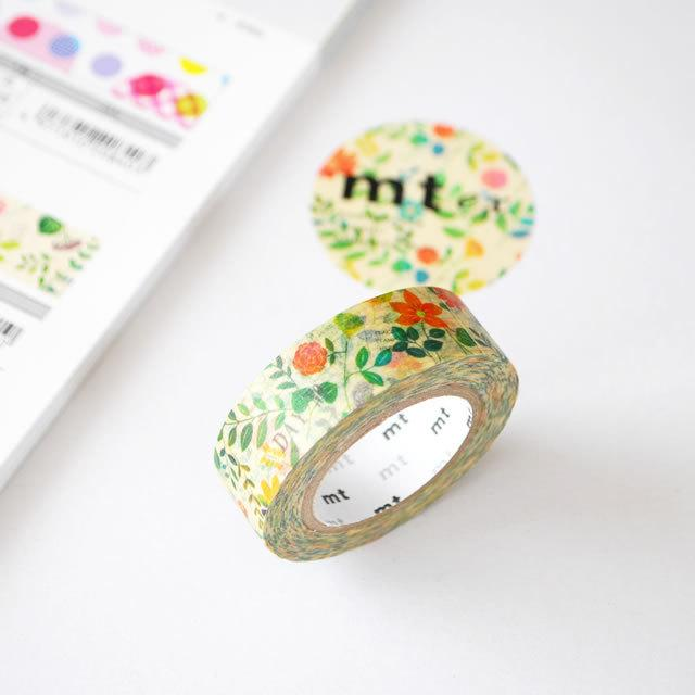 MT Little flowers Washi Tape-niconeco zakkaya