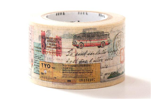 MT Traveling Vehicles Washi Tape-niconeco zakkaya