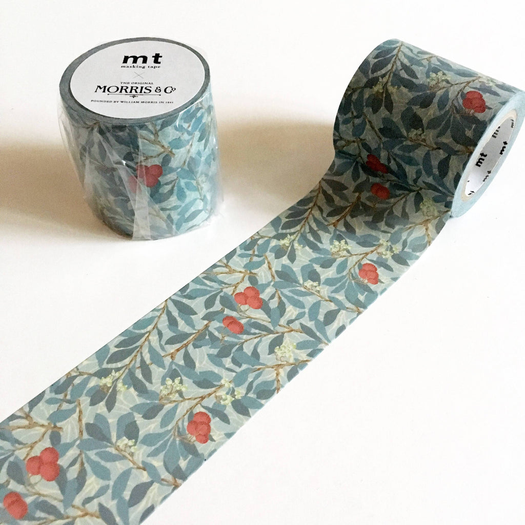 MT x William Morris Washi Tape - Arbutus-niconeco zakkaya