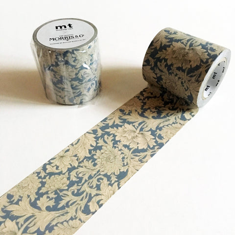 MT x William Morris Washi Tape - Chrysanthemum Toile-niconeco zakkaya