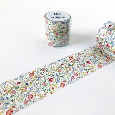 MT x William Morris Washi Tape - Mary Isobel-niconeco zakkaya