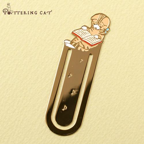 Pottering Cat Book Mark Collection - Clover-niconeco zakkaya