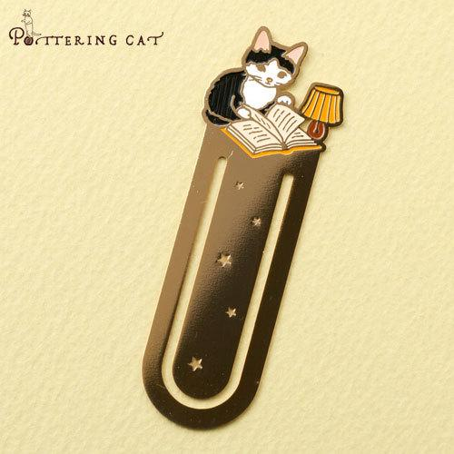 Pottering Cat Book Mark Collection - lamp-niconeco zakkaya