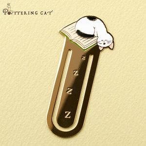Pottering Cat Book Mark Collection - napping-niconeco zakkaya