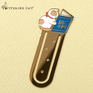 Pottering Cat Book Mark Collection - Reading-niconeco zakkaya