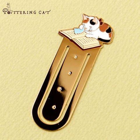 Pottering Cat Bookmark Collection - Tears-niconeco zakkaya