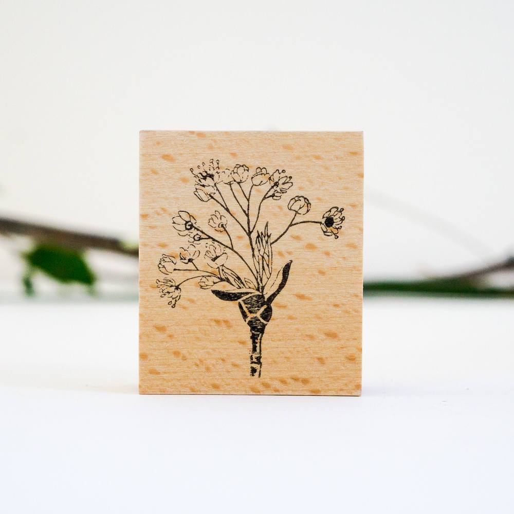 SJ Original Botanical Stamp - Maple Flower-niconeco zakkaya