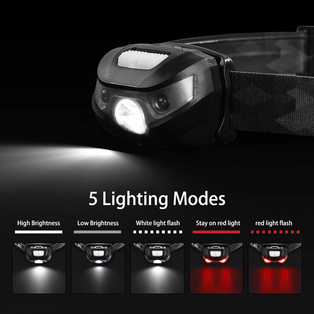 LED Rechargable Safety Headlight