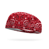 Red Bandana Performance Wicking Headband