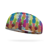 Pineapple Explosion Performance Wicking Headband
